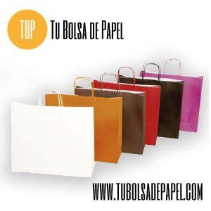 Bolsas de papel apaisadas