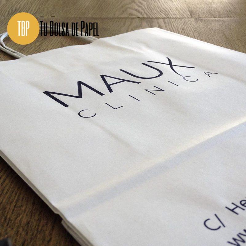 Bolsa de papel Celulosa personalizada blancas