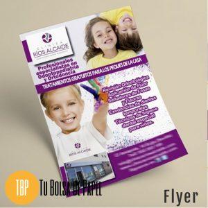 Flyer publicitario - envío gratis