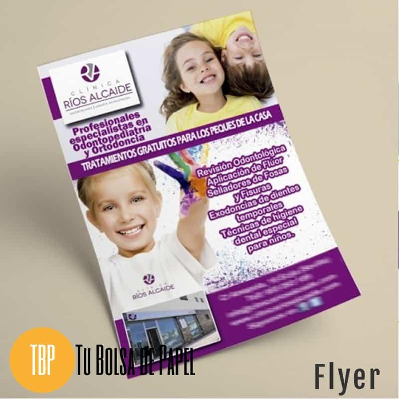 Folleto - Flyer publicitario