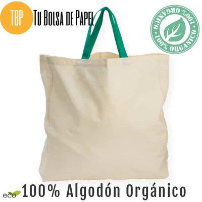 Bolsa de algodón orgánico premium