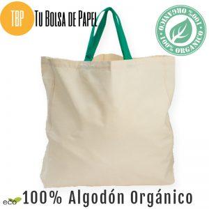 Bolsa de algodon organico premium