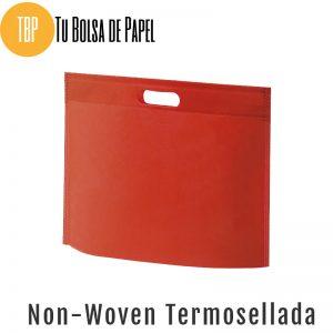 Bolsas re-utilizables non woven Termosellada - Roja