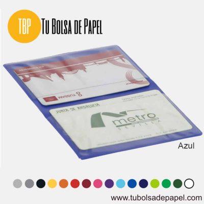 Tarjetero para Farmacias - Doble tarjeta