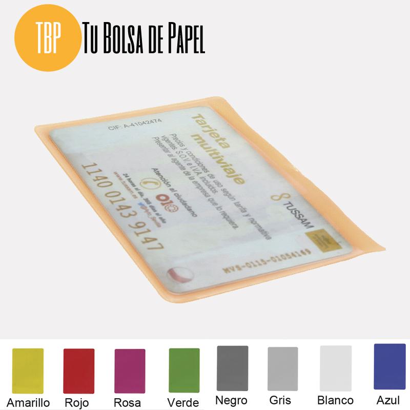 Tarjetero para Farmacias - una tarjeta