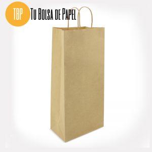 Bolsa de papel grande para botellas