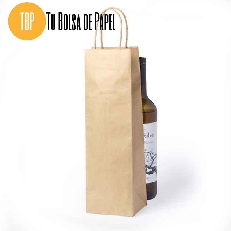 Bolsa de papel para botellas