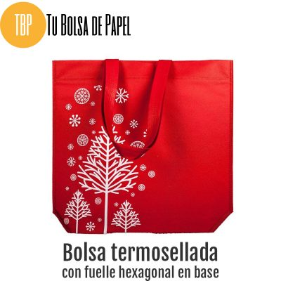 Bolsas reutilizables arbol de navidad
