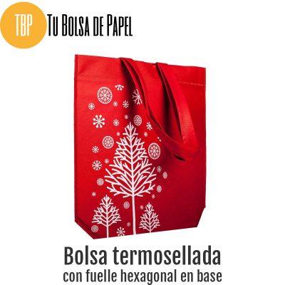 Bolsas reutilizables arbol de navidad tejido no tejido
