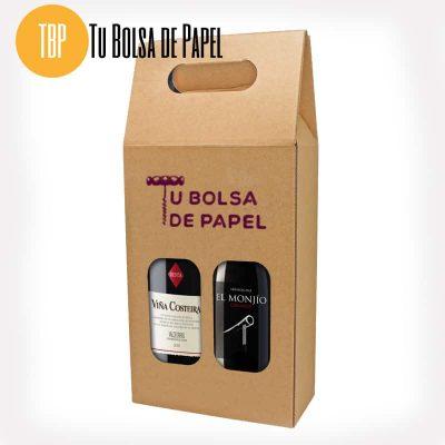 Cajas para botellas doble impresa