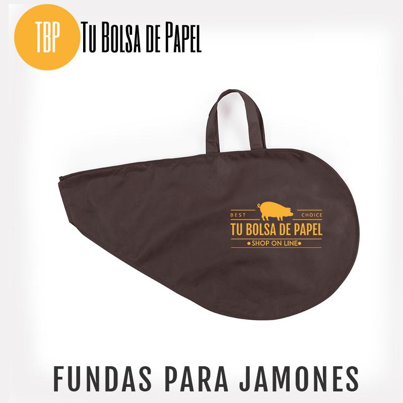 Fundas para jamones Marrón personalizada