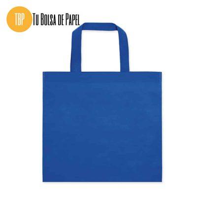 Bolsa de compra economica azul