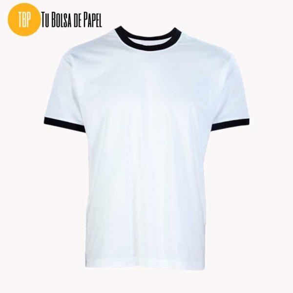 Camisetas Bicolor Blanco y Negro