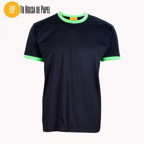 Camisetas Bicolor Negro y Pistacho