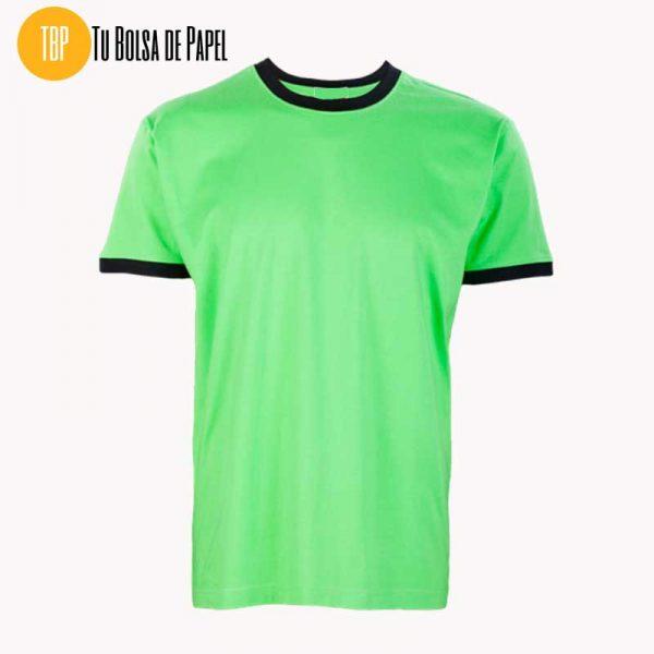 Camisetas Bicolor Pistacho y Negro