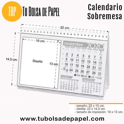 CalendarioSobremesa personalizado