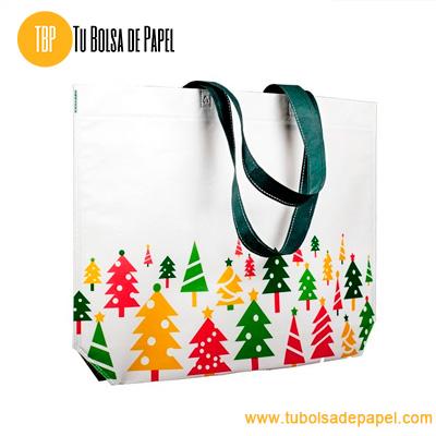 Bolsa Reutilizable para comercios Navidad