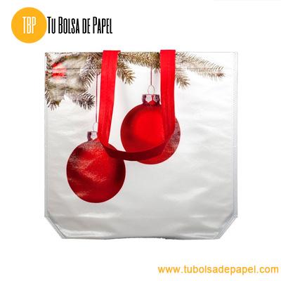 Bolsa re-utilizable para comercios de navidad