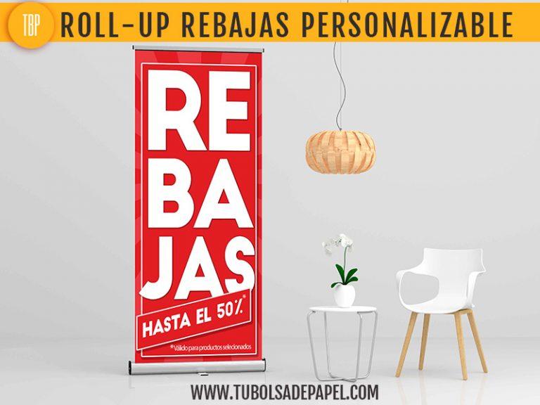 Rollup Eco Rebajas Personalizable