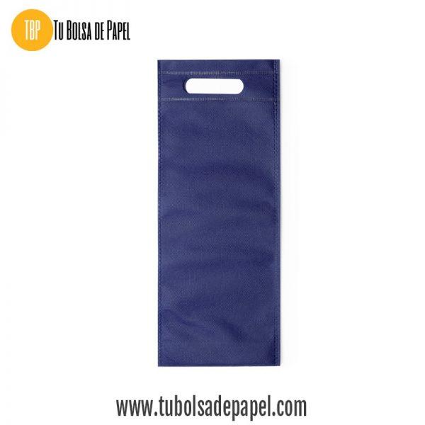 Bolsa para botellas azul