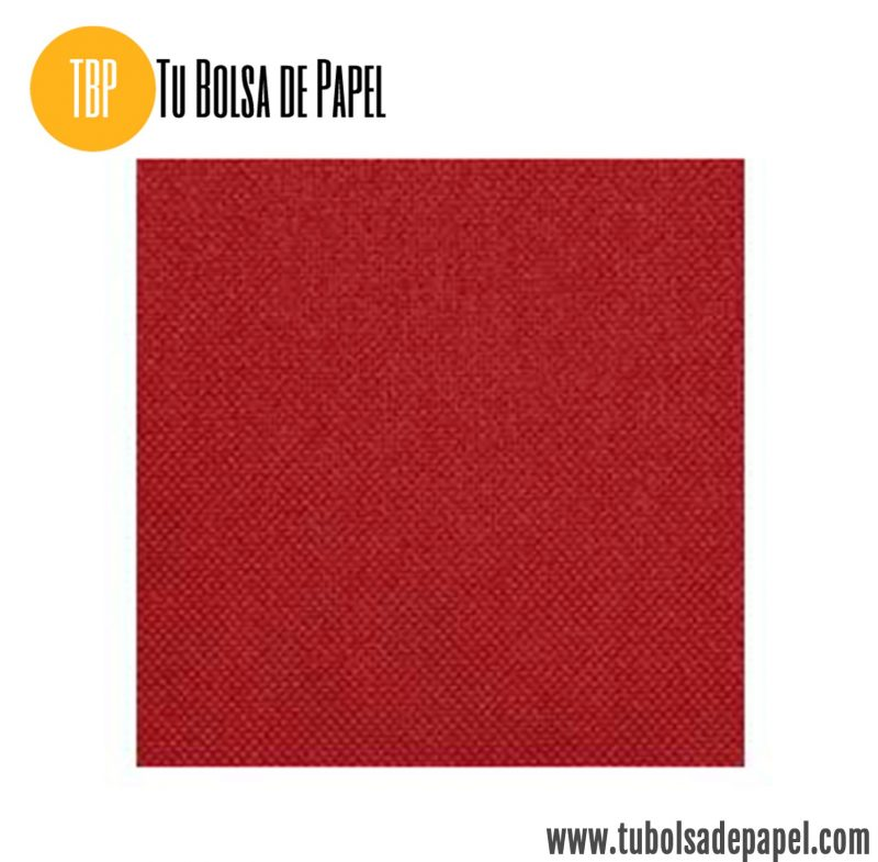 Tejido no tejido Rojo