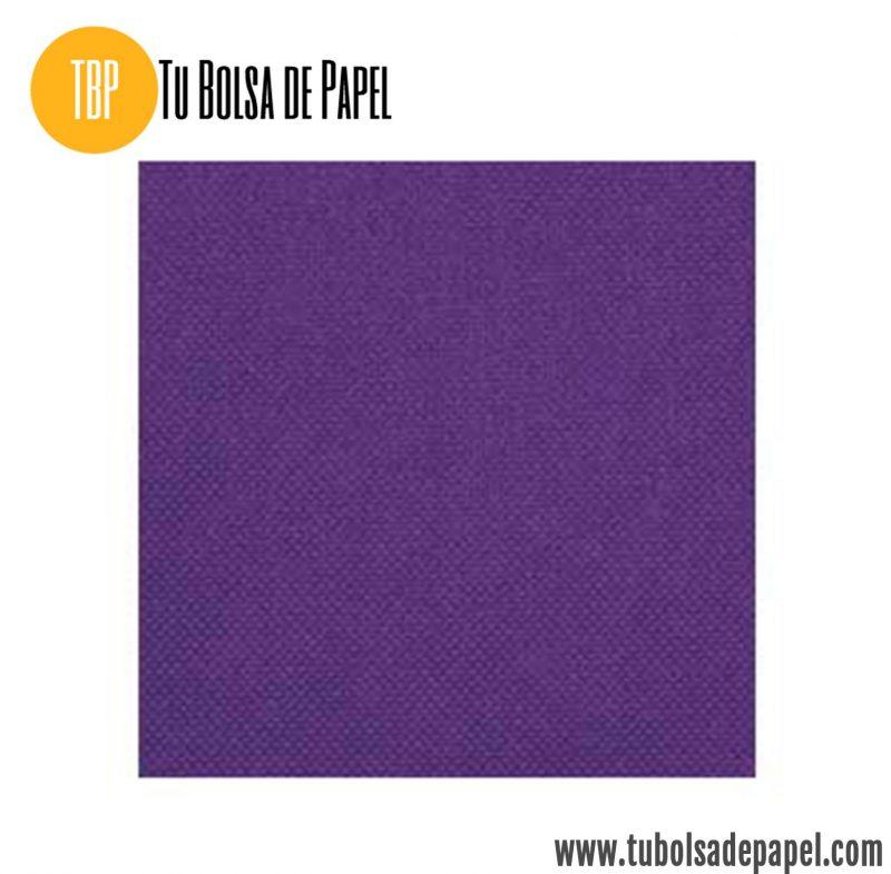 Tejido no tejido violeta