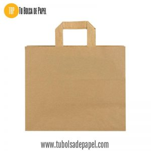 BOLSA PAPEL KRAFT - FAST FOOD XL