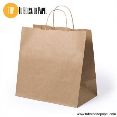 Bolsa de papel Kraft Comida para llevar