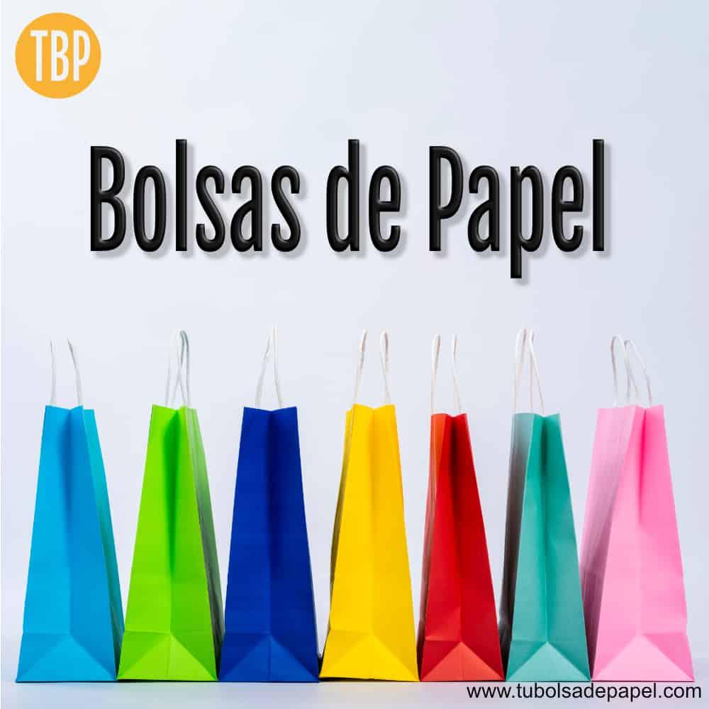 Bolsas de Papel para tiendas, restaurantes y farmacias