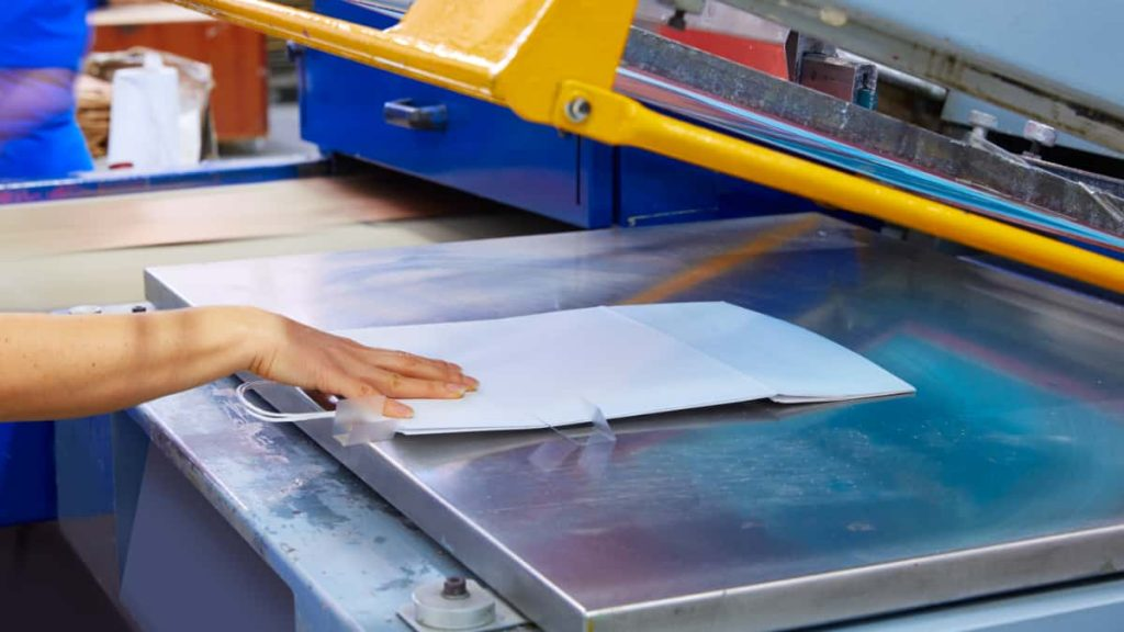 Imprenta de bolsas de papel