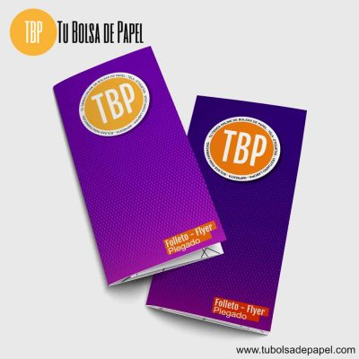 folletos flyer plegados envío gratis