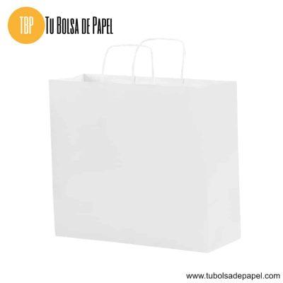 Bolsa de papel Blanca grande