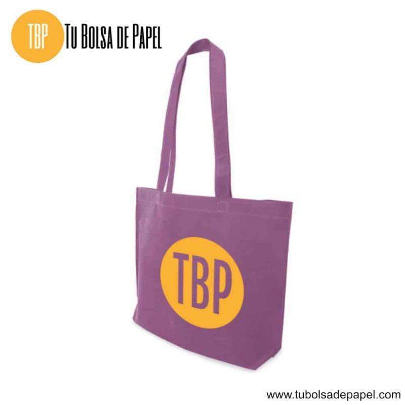 Bolsa reutilizable para comercios lila