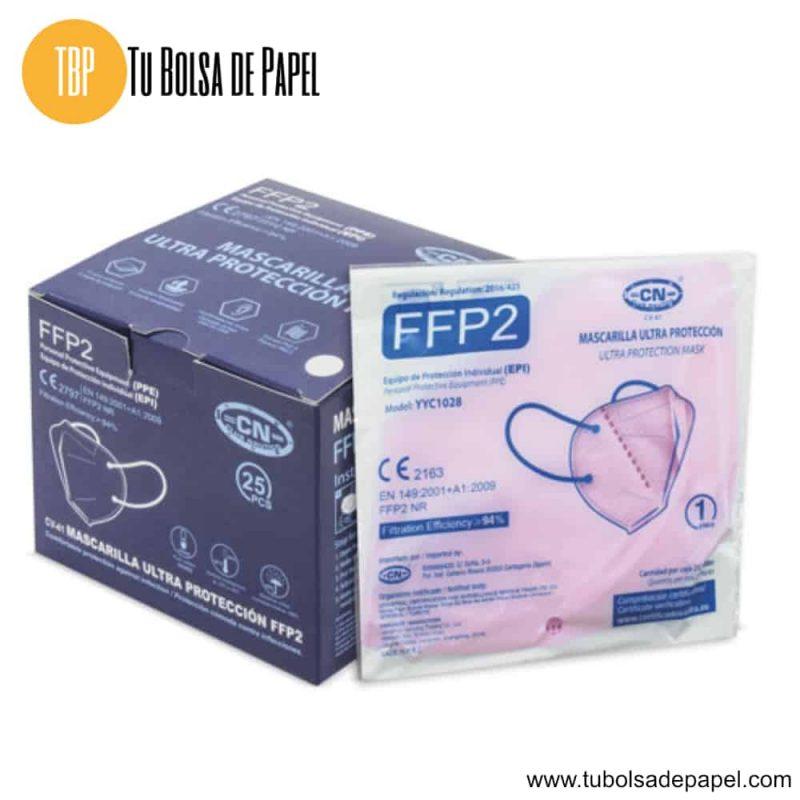 Mascarillas FFP2 Ultra Protección Rosas