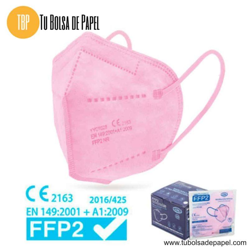 Mascarilla FFP2 Ultra Protección Rosas