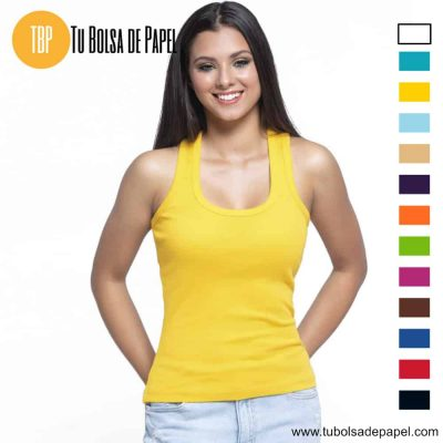Camiseta de mujer sin mangas