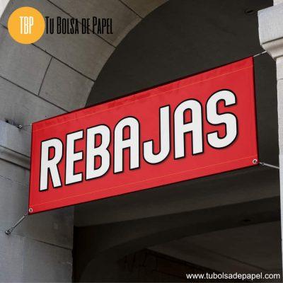 Pancarta Rebajas